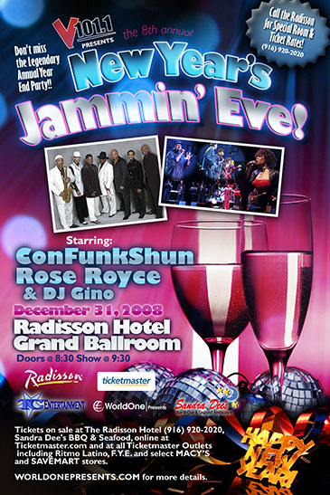 V101.1's New Year's Jammin' Eve Party